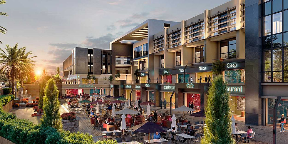 Hale Town Renders retail and restaturants