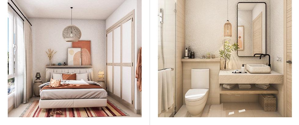 Interior design for Topio Homes