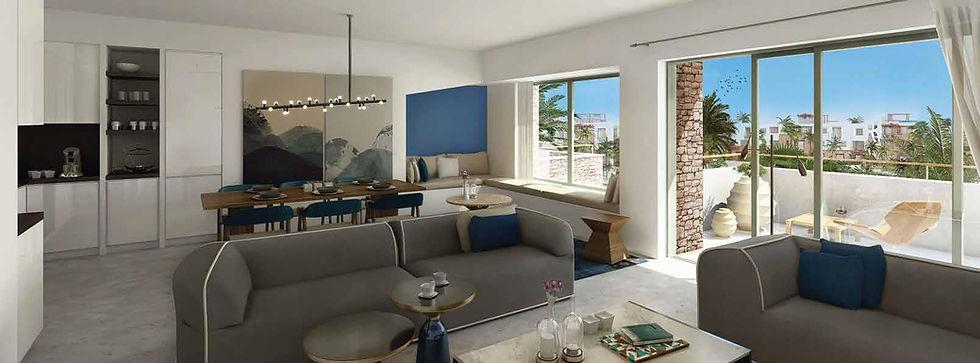 Interior design of homes inSwan Lake El Gouna by Hassan Allam