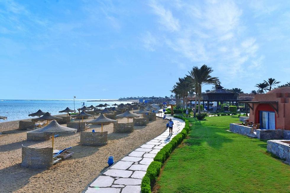 Beach at Oriental Coast Marsa Alam