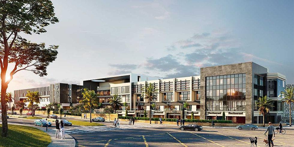 Hale Town building renders