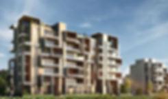 Vinci New Capital Apartment Buildin Facades