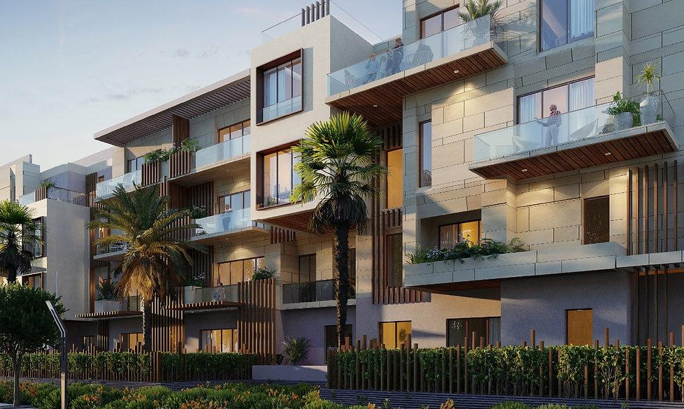 Allegria Residence Apartment Building Facade