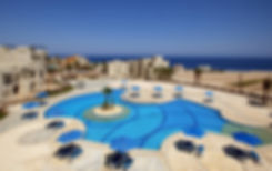 View of the red sea from Azzurra Sahl Hasheesh