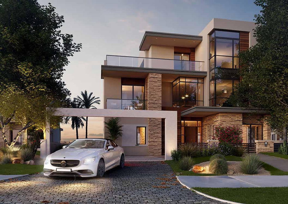 Large Villa in The Estates by SODIC
