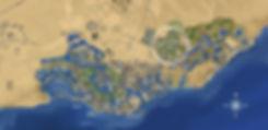 Location of Cyan on El Gouna Master Plan