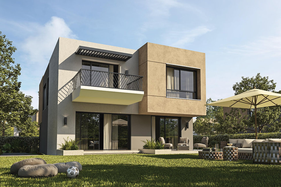 Render for villa type M in The Selina Swan Lake Residences