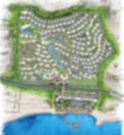 master plan for Baymount Sokhna