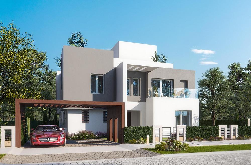 ETAPA Grand Villa exterior designs