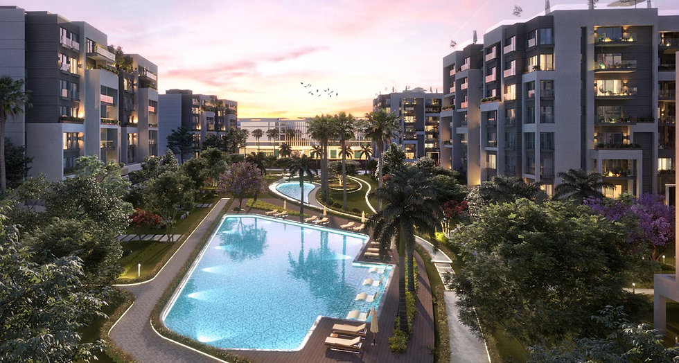 Landscape in Residence Eight New Capital
