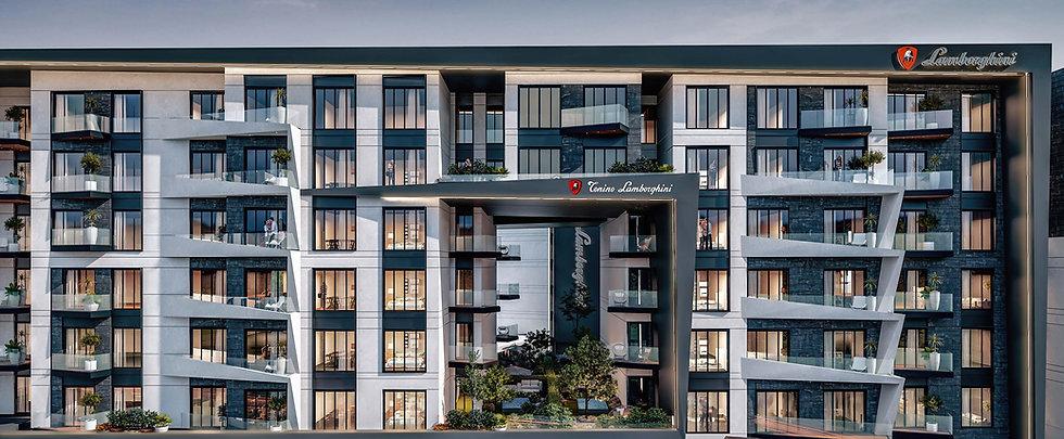 Tonino Lamborghini building designs in Atika New Capital