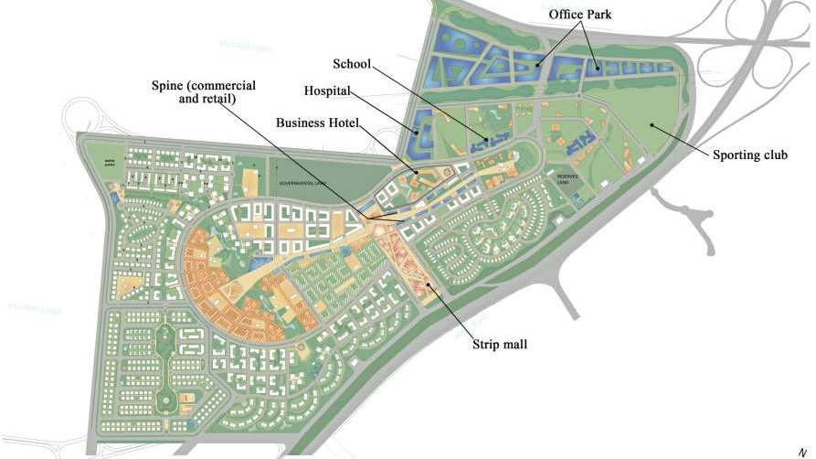 Taj City MNHD Nasr City Master Plan