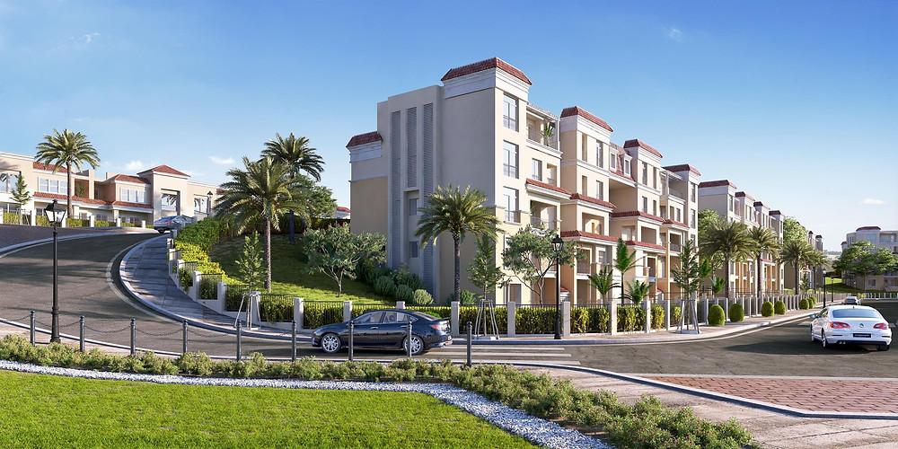 Sarai New Cairo Landscape Design