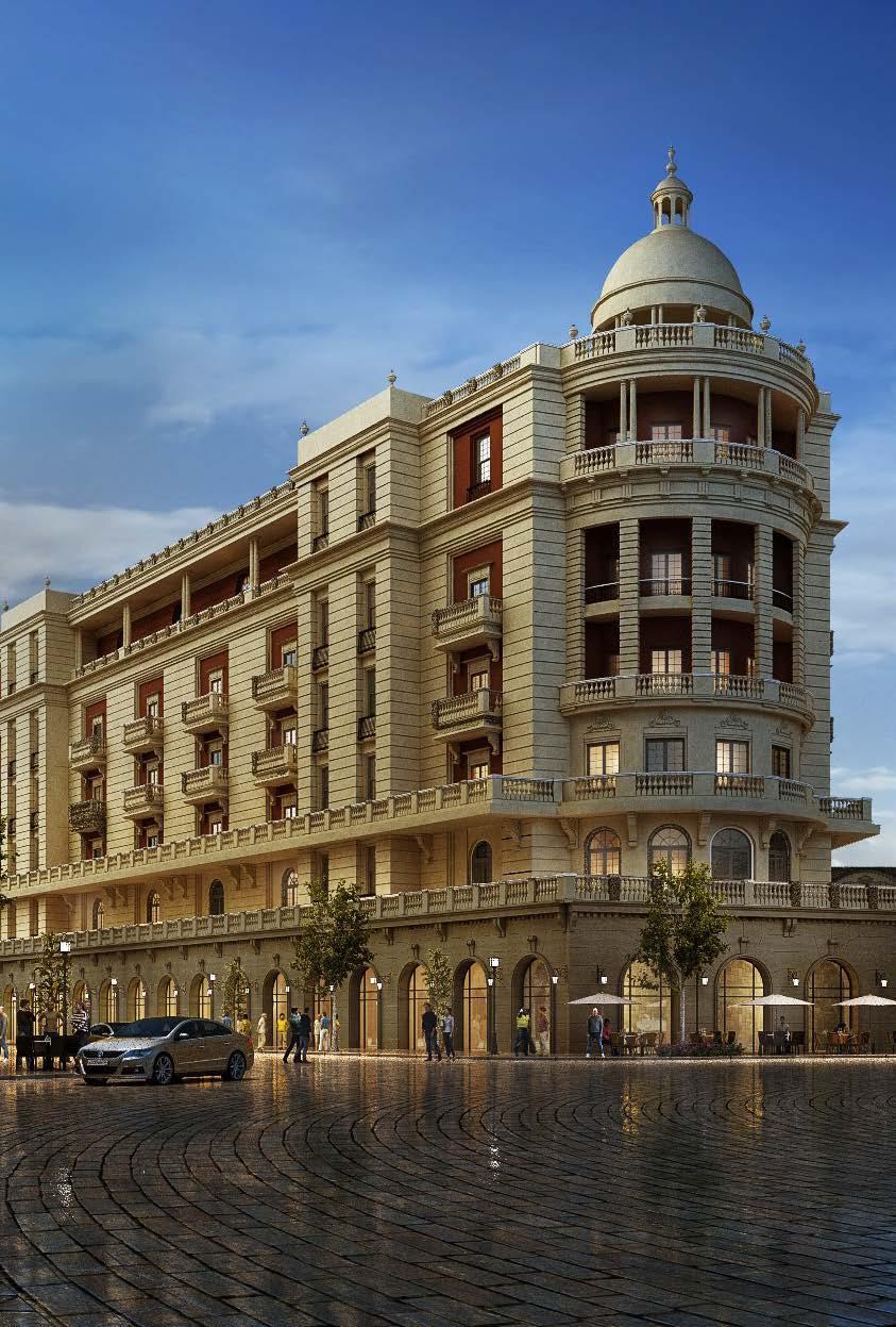 Baroque New Capital apartment buildings