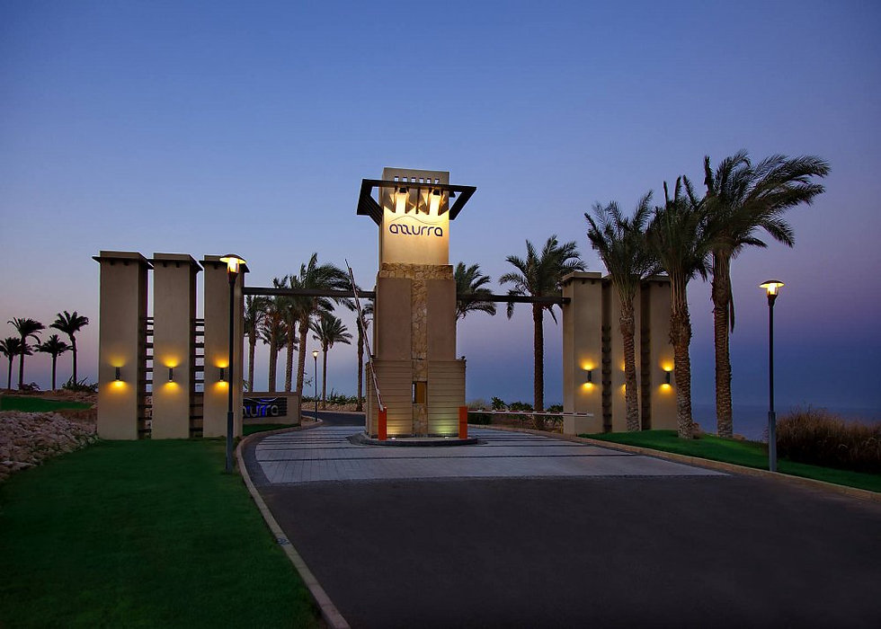 entrance to Azzurra Sahl Hasheesh