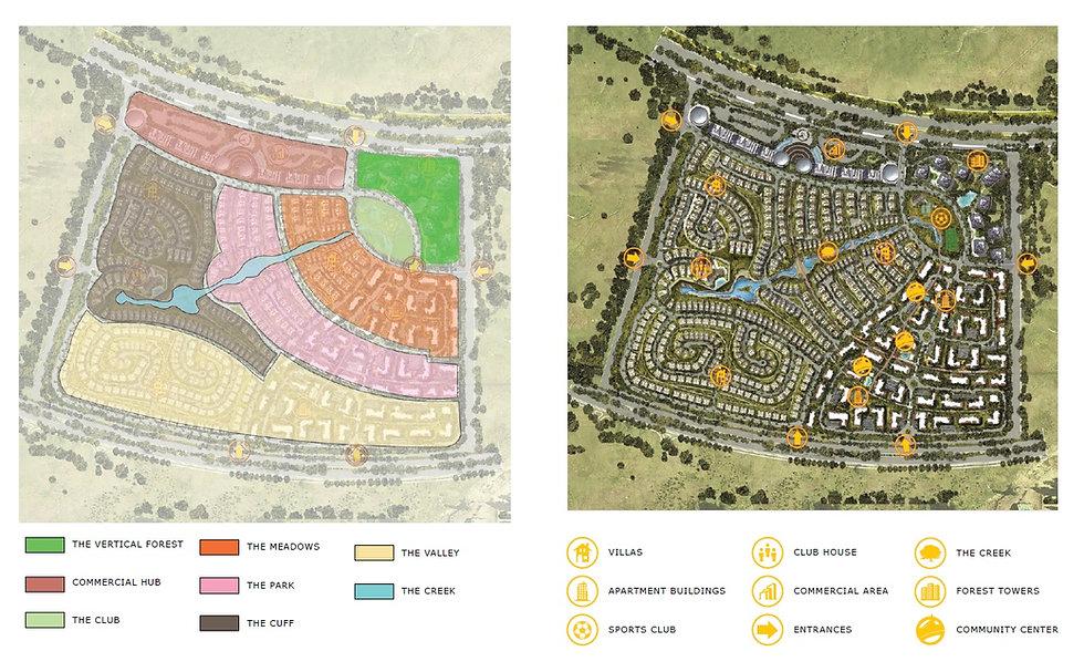 Master Plan Design IL Bosco New Capital
