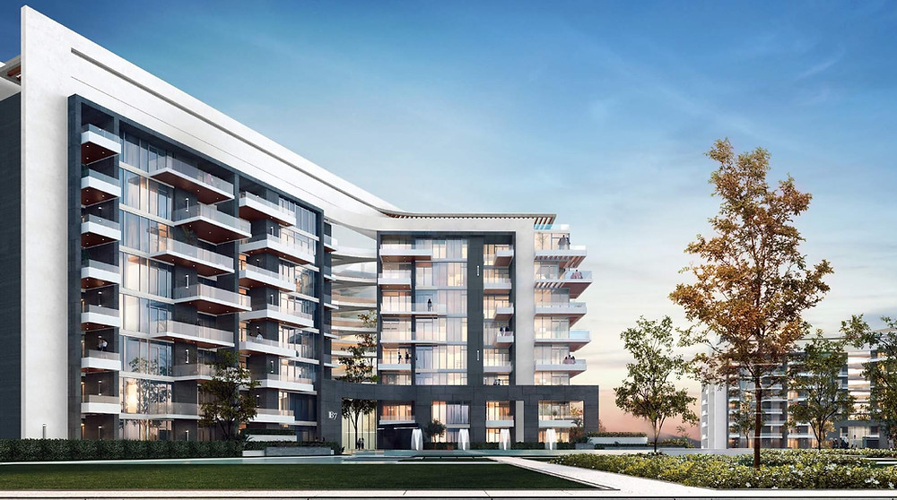 Residential building renders in The Capitalway New Capital