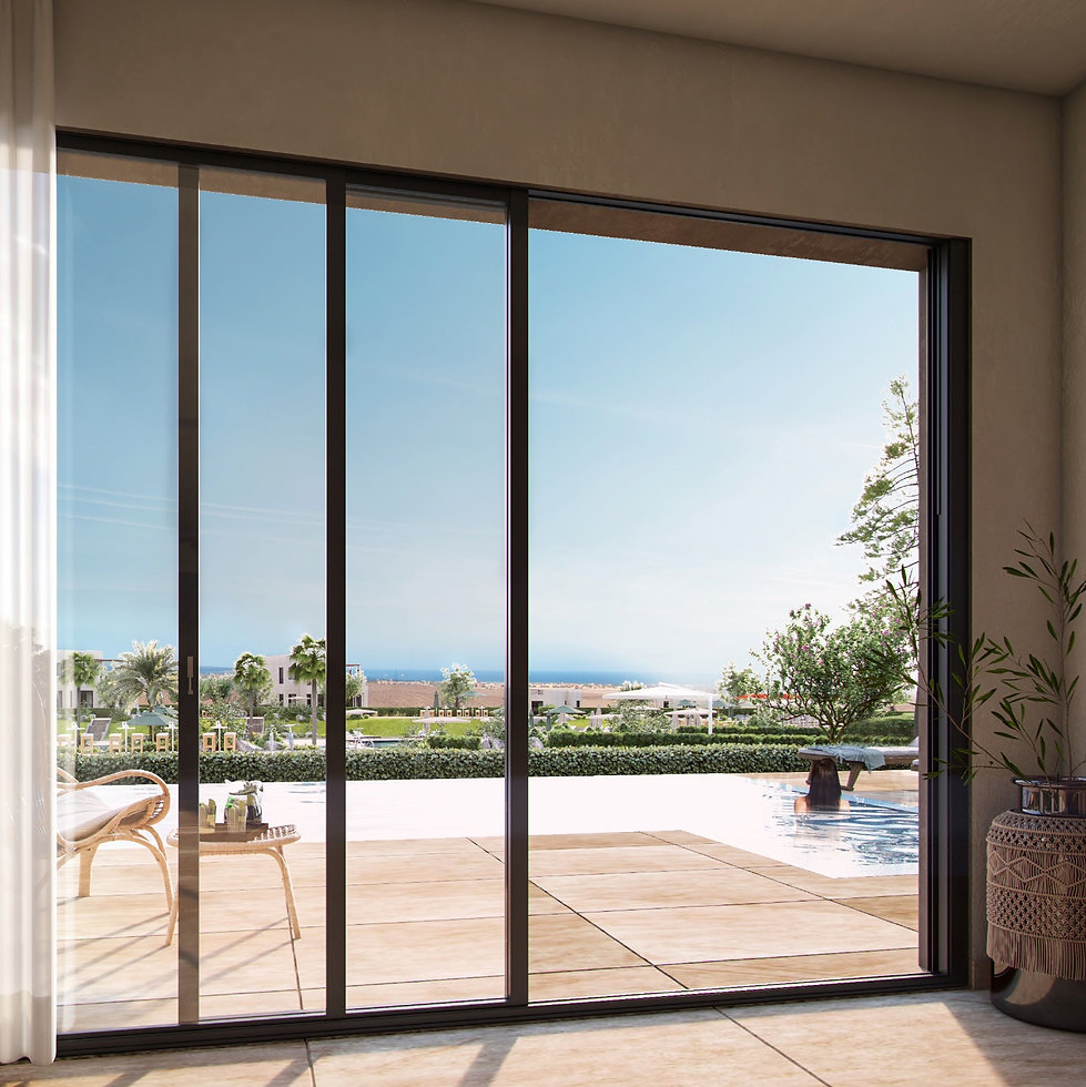 view from Sole Standalone villa in Makadi Heights