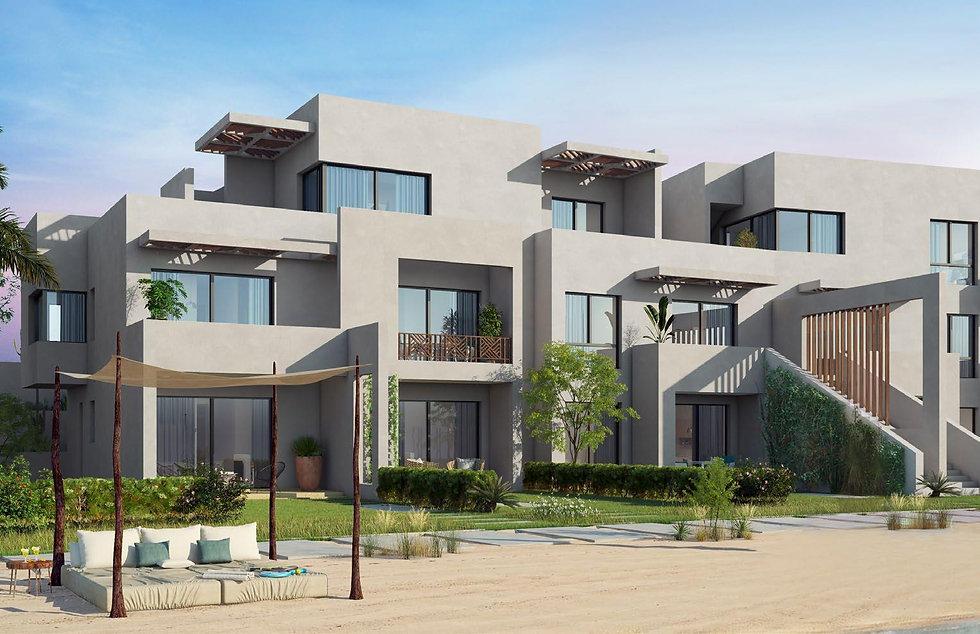 apartment buildings in Bayou Makadi Heights