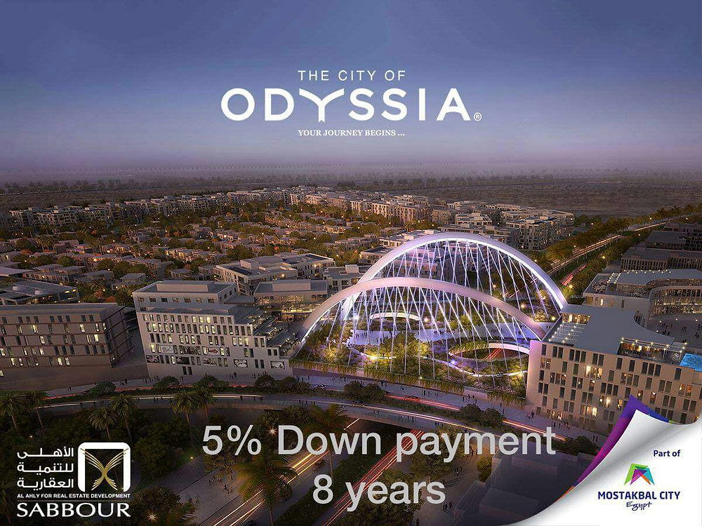 The City of Odyssia in Mostakbal City from Al Ahly for Real Estate Development