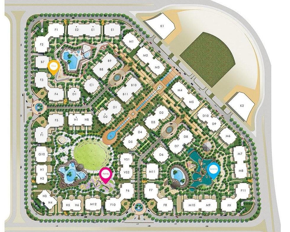 90 Avenue New Cairo Master Plan Tabarak Holding