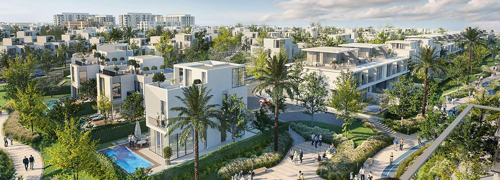 building architecture in Cairo Gate by Emaar