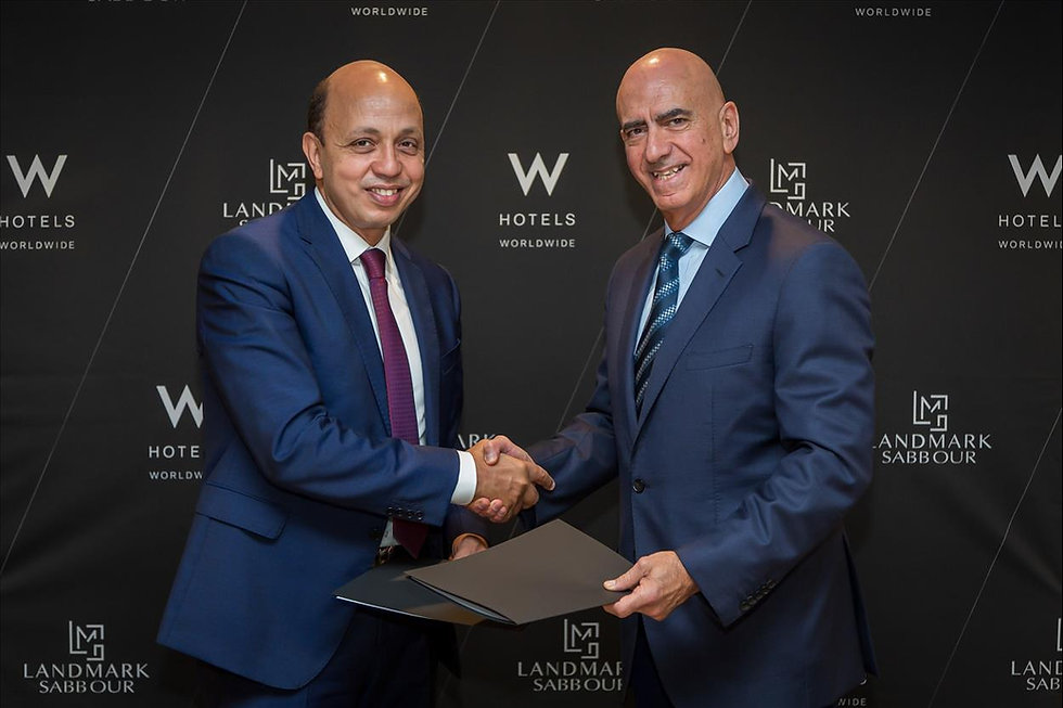 Landmark Sabbour and Marriott International sign agreement for 1-Ninety