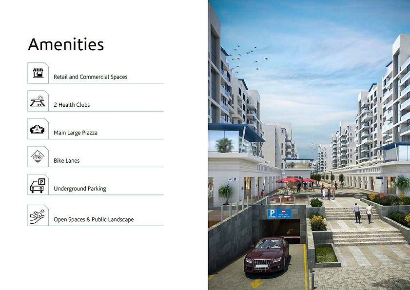 Downtown New Alamein Amenities