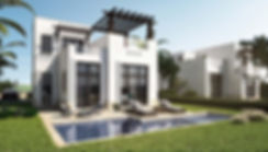 Cyan E Gouna Type B Villa 155 sqm external design pool view