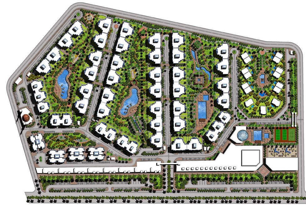 Downtown Port Said Master Plan