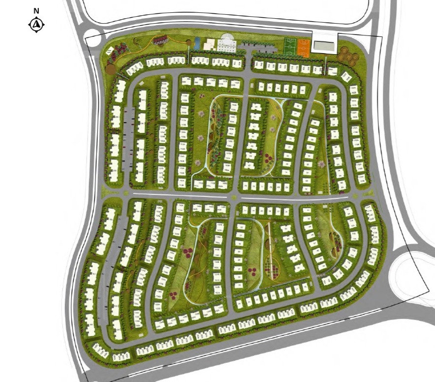 master plan for Etapa Sheikh Zayed
