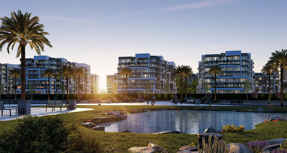 Residence Eight New Capital by SKY AD. Developments