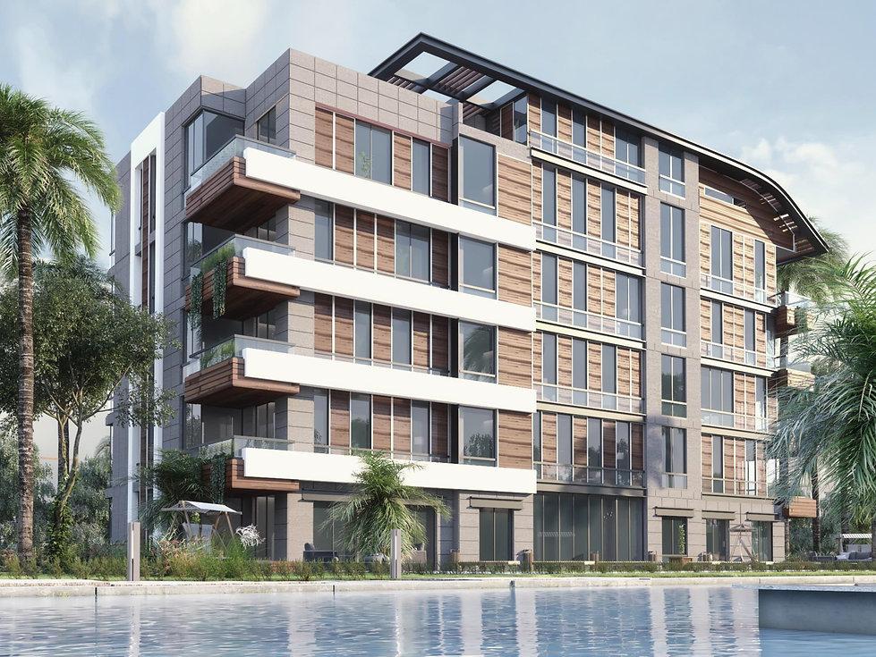 Al Jazi First New Cairo Apartment building