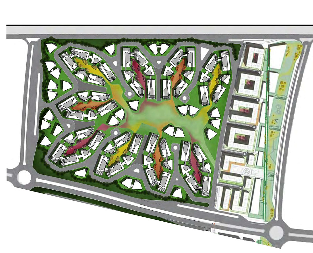 Bloomfields phase one master plan
