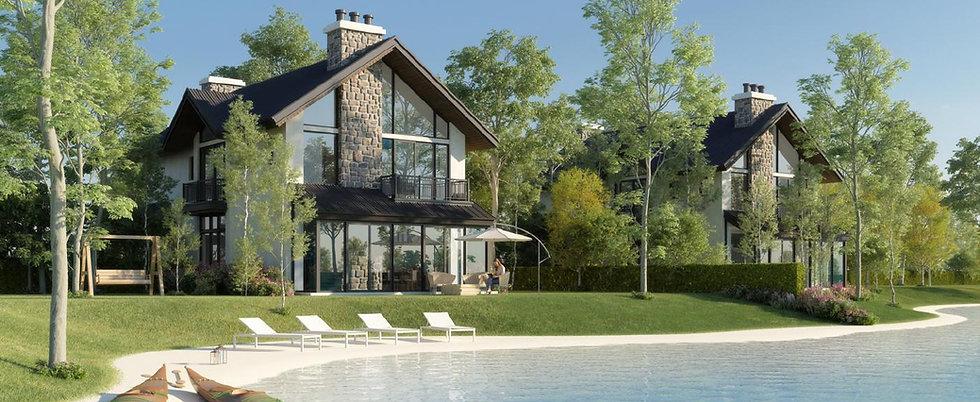 WaterMarQ villa overlooking artifical lake