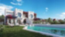 Villas in Rhodes Island Mountain View