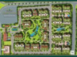 Master plan of Regent's Park New Cairo