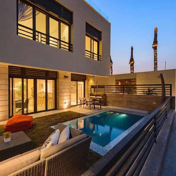 Trio Garden Villas come with private garden and plunge pool