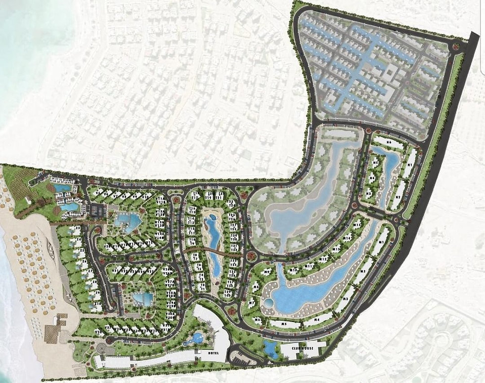 Master Plan for Zoya North Coast by Landmark Sabbour
