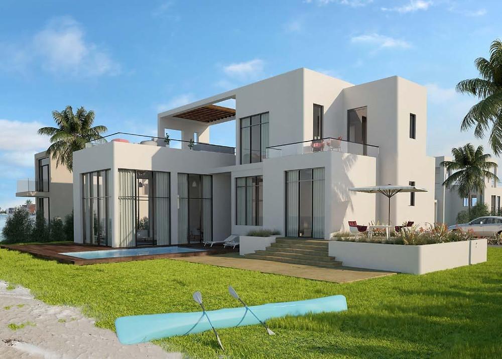 Standalone villas in Tawila, El Gouna, Red Sea, Egypt