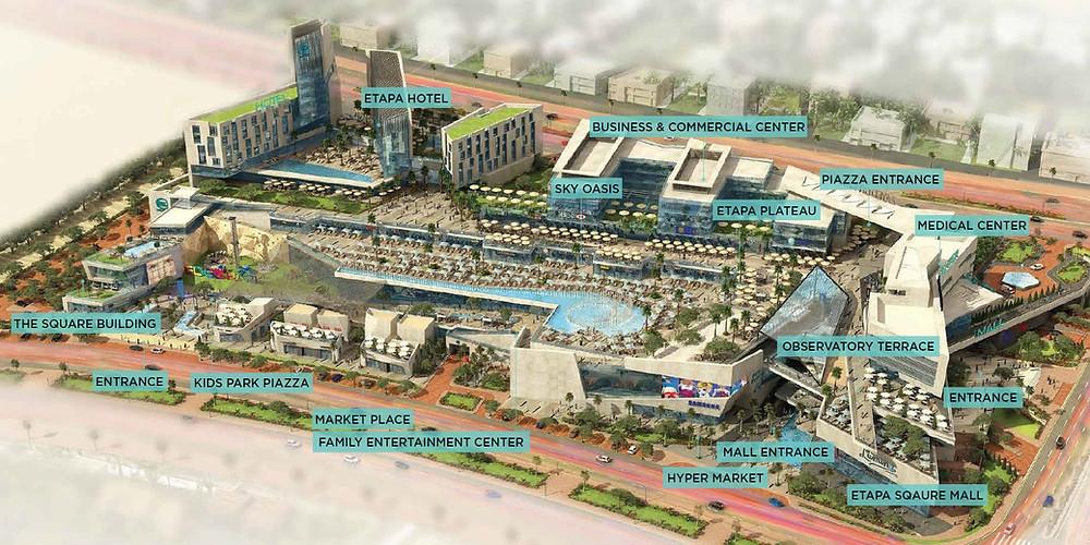 Master Plan of Etapa Square by City Edge Developments