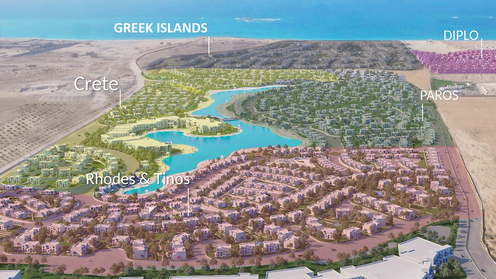 3D master plan for Mountain View Ras El