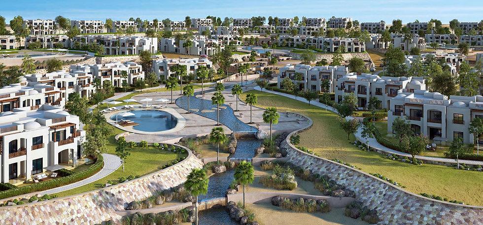 Landscape design in Makadi Heights
