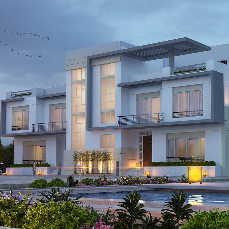 Twin Villa in Downtown Port Said