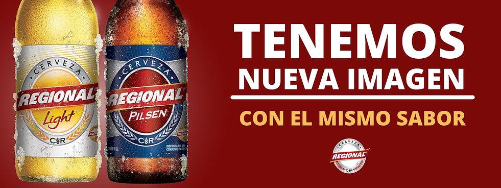 Nueva imagen de las Cervezas Regional