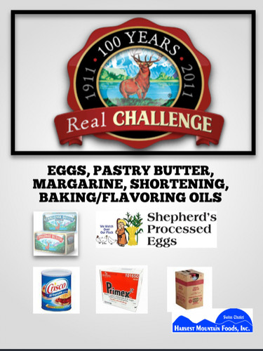 Eggs-Butters-Shortening-Oils