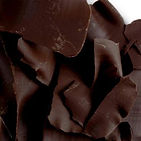CHOCOLATE SHAVINGS DARK DECORATIONS
