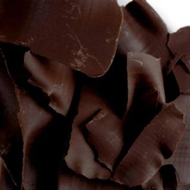 CHOCOLATE SHAVINGS DARK DECORATIONS