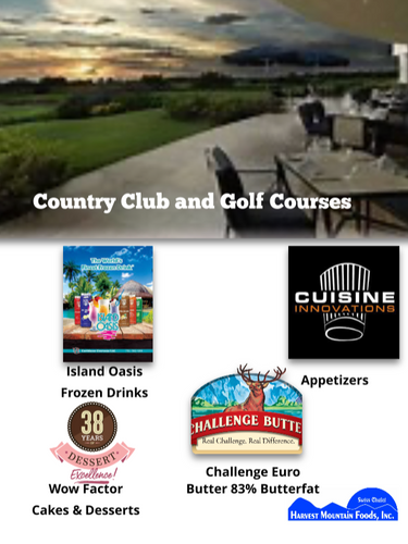 Golf Course and Country Clubs