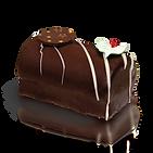 CHOCOLATE YULE LOG  (SEASONAL)